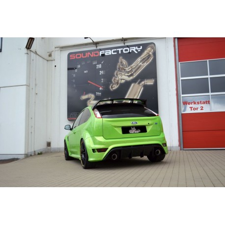 Friedrich Streetbeast Auspuffanlage Ford Focus RS MK2 2.5 L