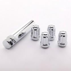Anti-theft lug nuts JR ATN1 - 12x1,25 Chrome