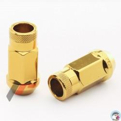 Forged Steel JR Nuts JN1 12x1,25 Gold