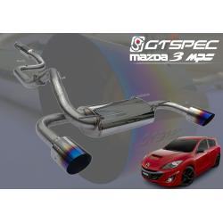 GTSPEC Auspuffanlage Mazda 3 MPS BL 2.3 L