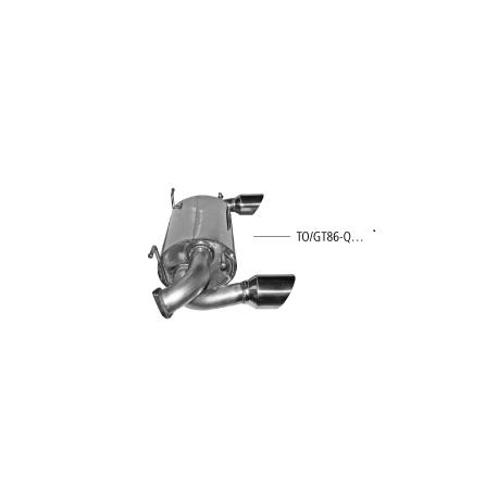 Bastuck Endschalldämpfer Toyota GT86 ZN 2.0 L