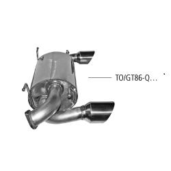 Bastuck Endschalldämpfer Subaru BRZ ZN 2.0 L