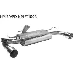 Bastuck Endschalldämpfer Hyundai i30N PD 2.0 T