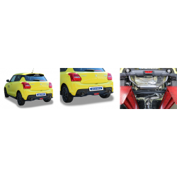 Bastuck Endschalldämpfer Suzuki Swift AZ Sport 1.4 L