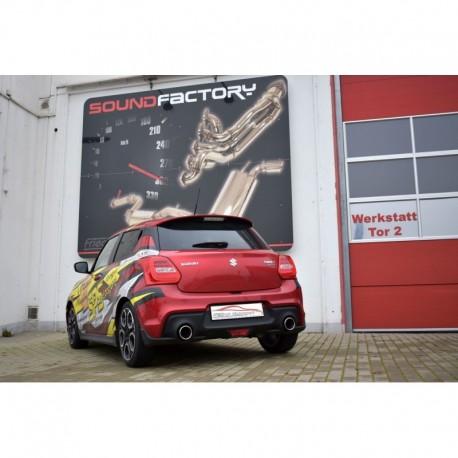 Friedrich Auspuffanlage Suzuki Swift AZ Sport/RZ Sport 1.4 L