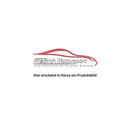 Friedrich Endschalldämpfer Audi A3 8P 1.8 L TFSI/2.0 L TFSI