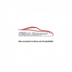 Friedrich Endschalldämpfer VW Polo 6R Facelift 6C 1.4 L TSI