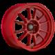 König Wheels Hypergram red opal