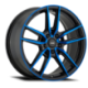 König Wheels Myth gloss black - blue tinted clearcoat