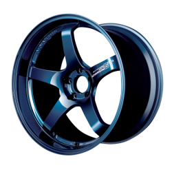 ADVAN Racing GT Premium racing titanium blue