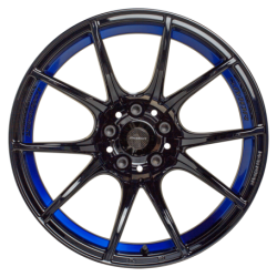 WEDS Sport SA-10R blue light chrome